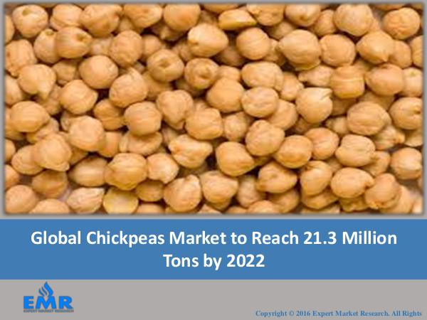 Food and Beverages Research Reports Chickpeas Market Report 2017-2022