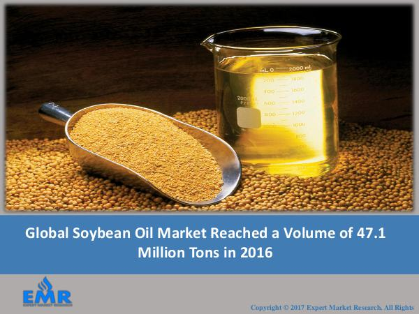 Food and Beverages Research Reports Soybean Oil Market Price, Trends 2017-2022