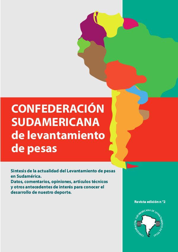 revista 2 confederacion sudamericana de pesas