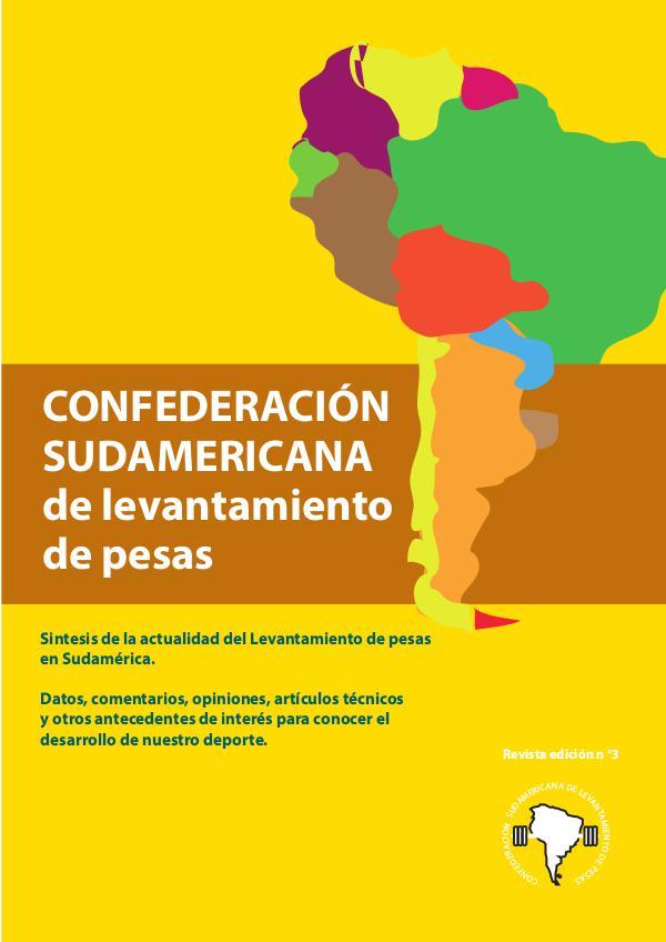 revista 3 confederacion sudamericana de pesas