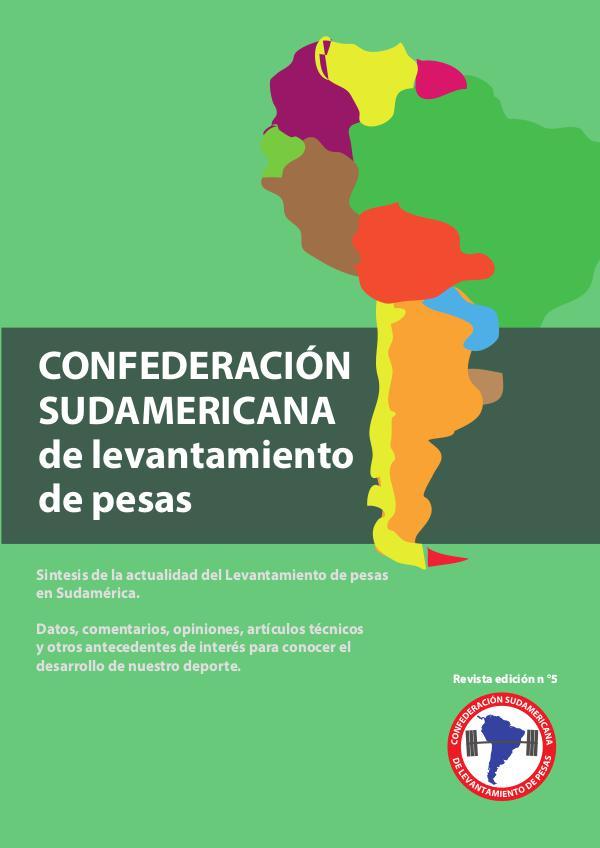 revista sudamericana de pesas V revista V confederacion sudamericana de pesas