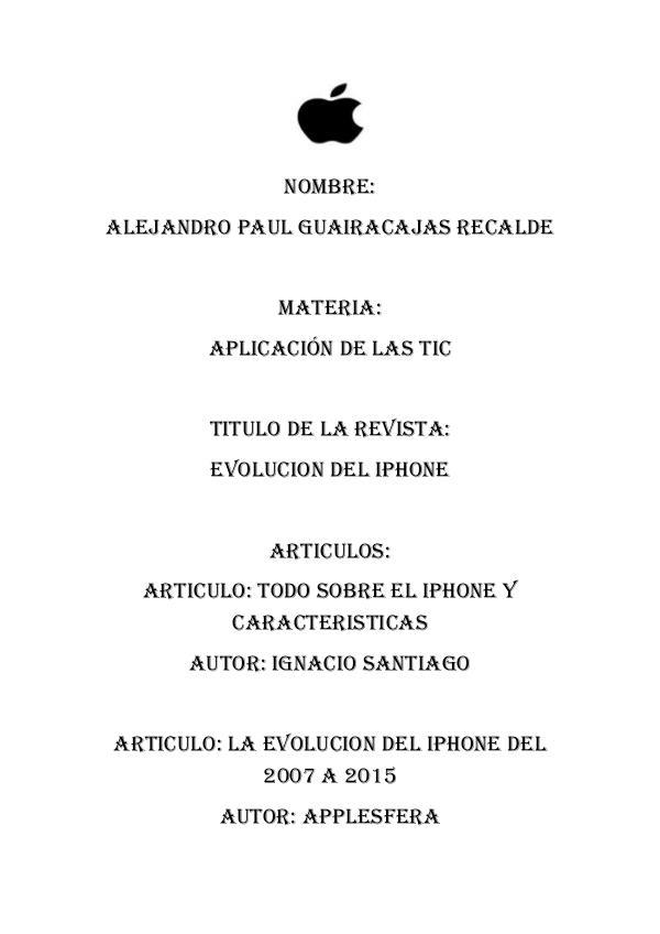 MUNDO MAC REVISTA DEL IPHONE