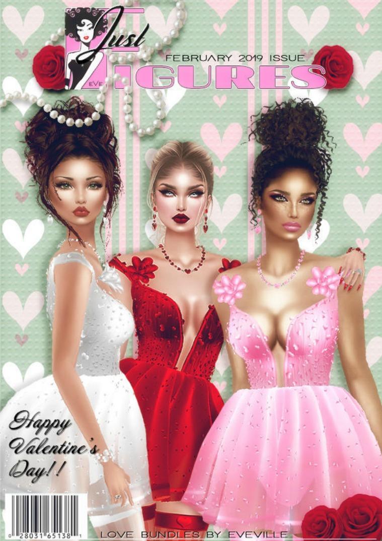 JustFigures Magazines  2019 Valentines issue