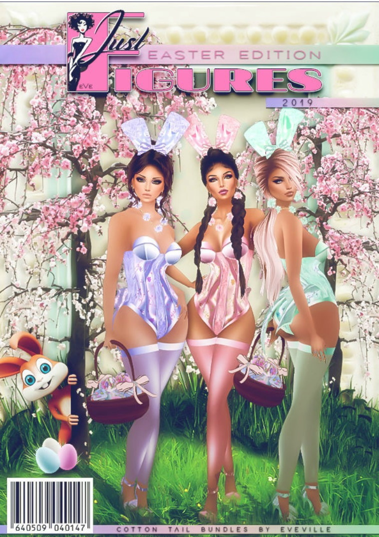 JustFigures Magazines  2019 Easter Edition