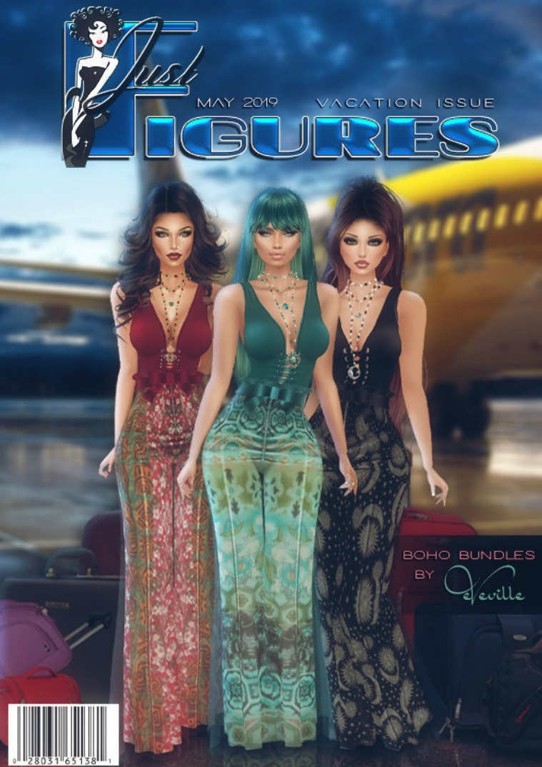 JustFigures Magazines  2019 vacation edition