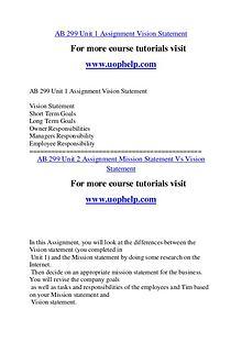 AB 299 Endless Education /uophelp.com