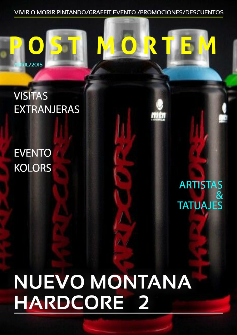 Mi primera revista GRAFFITI