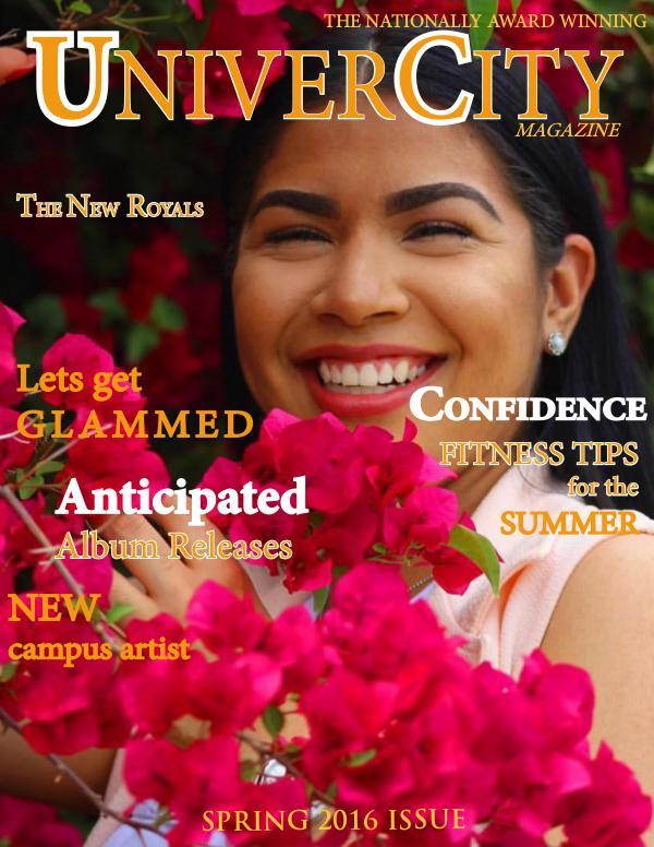 My first Magazine Spring 2016 Issue