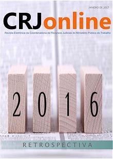 CRJonline - Retrospectiva 2016