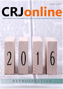 CRJonline - retrospectiva atualizada