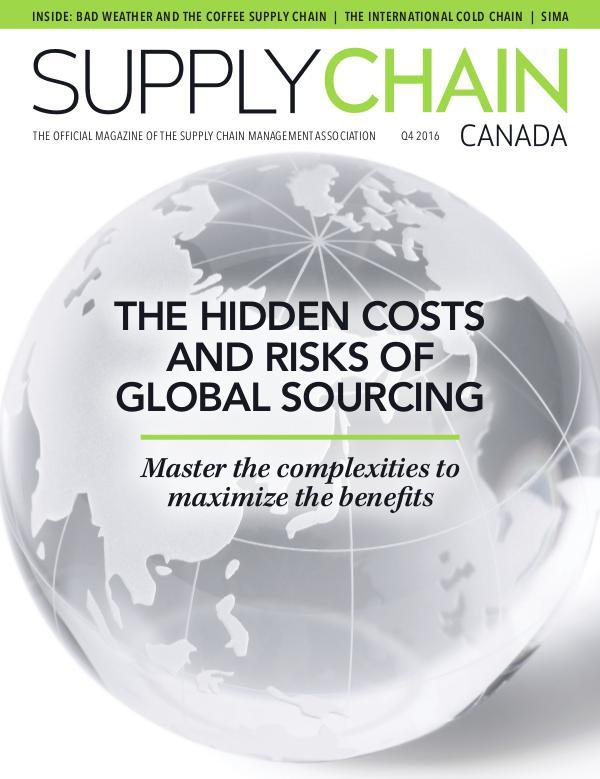 Supply Chain Canada Q4 2016