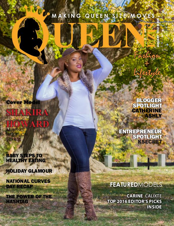 Queen Size Magazine January 2017 Issue