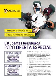 UNSW Global Latin American 2020 Special Offer