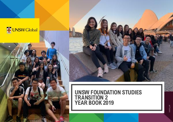 UNSW Global Yearbooks T2 2019