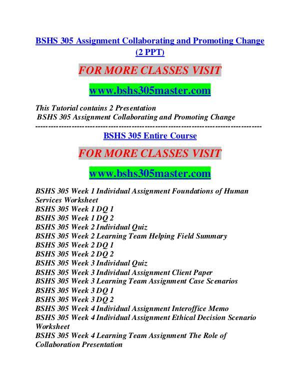 BSHS 305 MASTER Career Begins/bshs305master.com BSHS 305 MASTER Career Begins/bshs305master.com