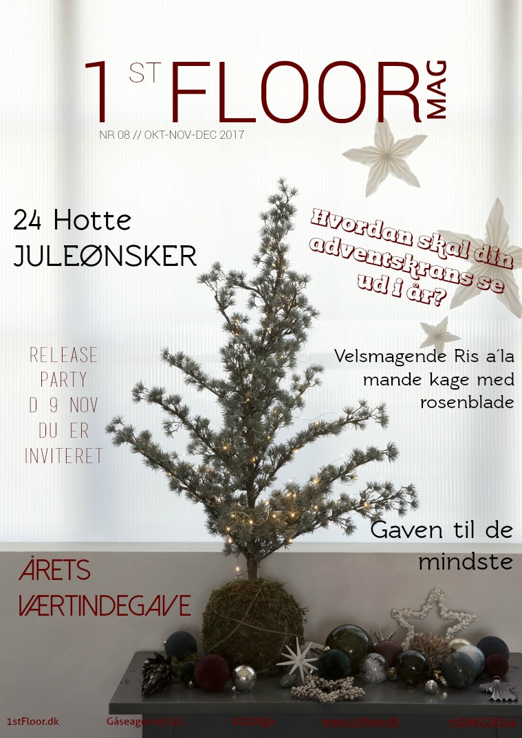 1stFLOORmag CHRISTMAS EDITION