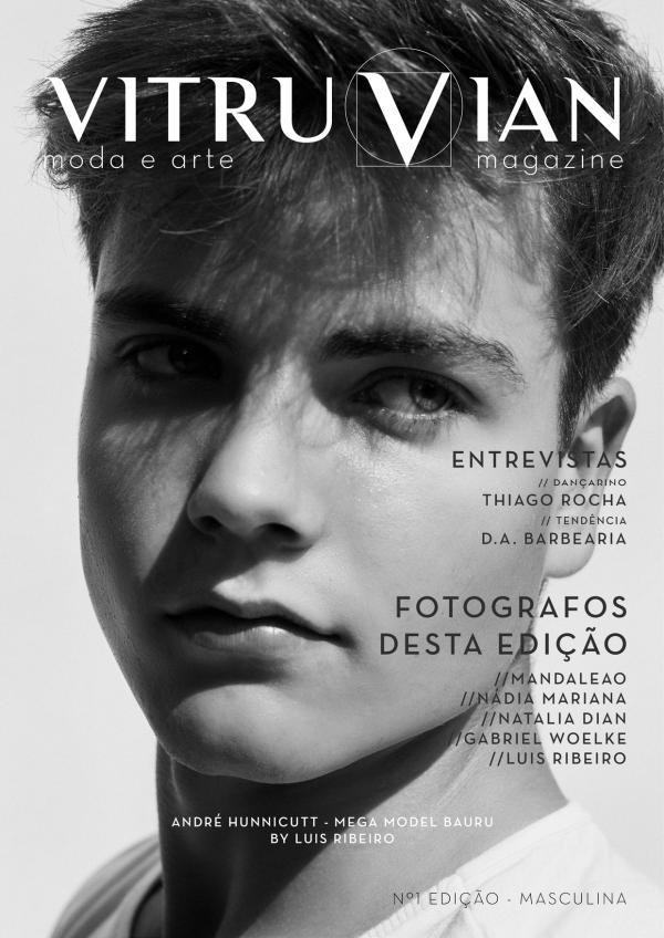 Vitruvian Magazine #1 Edição - Masculino