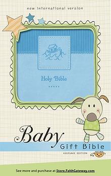 NIV Baby Gift Bible NIV, Baby Gift Bible Sampler