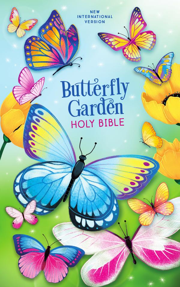 "NIV Butterfly Garden Holy Bible Book of Mark, ""Prayer Is..., Getting to Know Jesus"