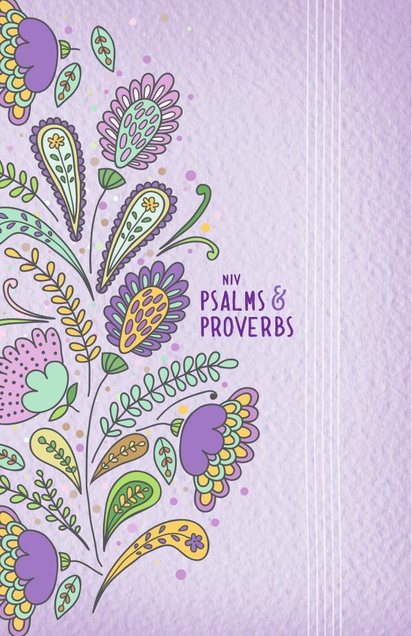 NIV Psalms & Proverbs, Purple