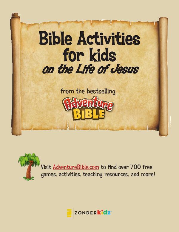Life of Jesus Activities