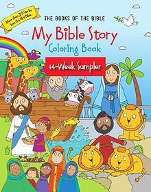 My Bible Story Coloring Bool - 14 Week Sampler