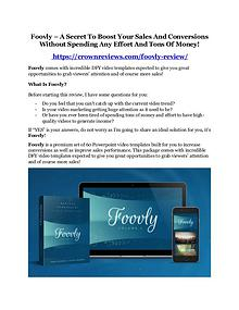 Foovly Review - MASSIVE $23,800 BONUSES NOW!