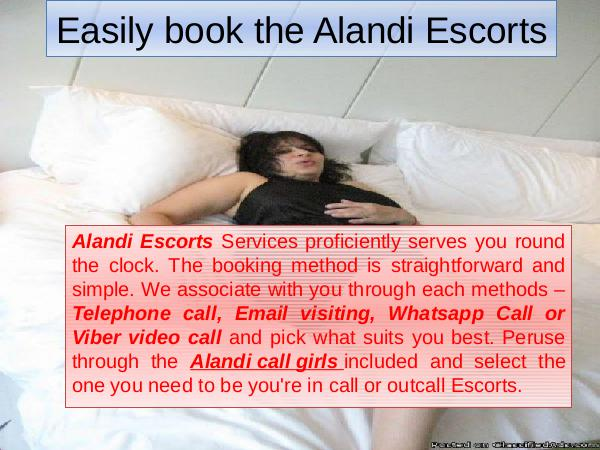 Easily book the Alandi Escorts 1