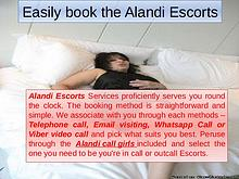 Easily book the Alandi Escorts