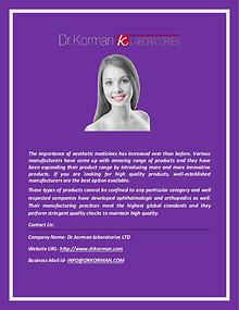 Drkorman.com: Anti-Radical Cellulite Formula Manufacturer