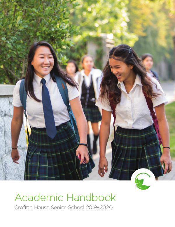 Academic Handbook 2019-2020