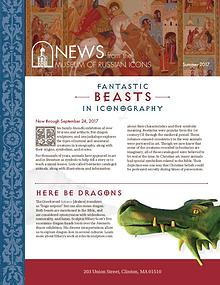 The Museum of Russian Icons Summer 2017 Newsletter