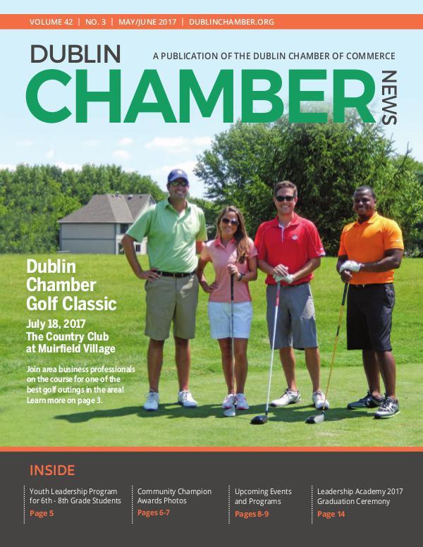 Dublin Chamber May June 2017 Magazine DCCMayJuneNewsOnline