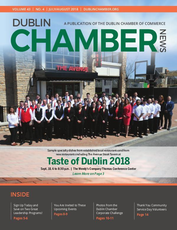 Dublin Chamber News July August 2018 DCCJulyAugNews18online