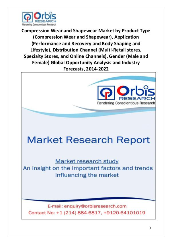 Market Research Reports Worldwide Compression Wear and Shapewear Market