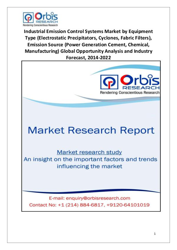 2014 Industrial Emission Control Systems Market
