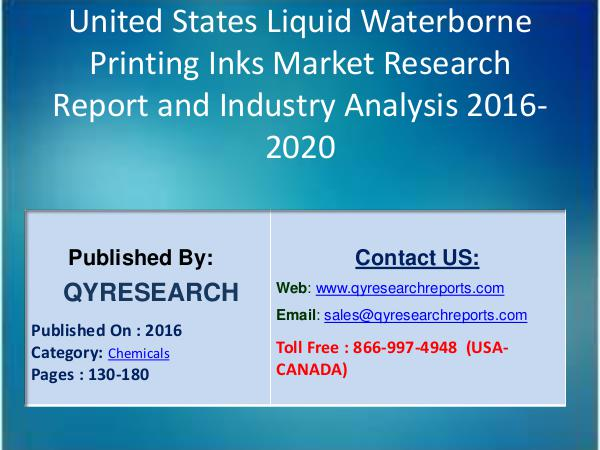 United States Liquid Waterborne Printing Inks Industry 1