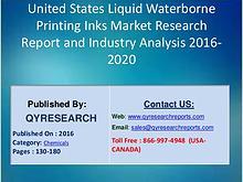 United States Liquid Waterborne Printing Inks Industry