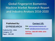 Global Fingerprint Biometrics Machine Industry 2016 Industry Business