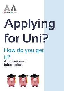 Applying for Uni - Applications & Information