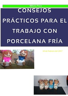 CONSEJOS PRÁCTICOS PARA EL TRABAJO CON PORCELANA FRÍA