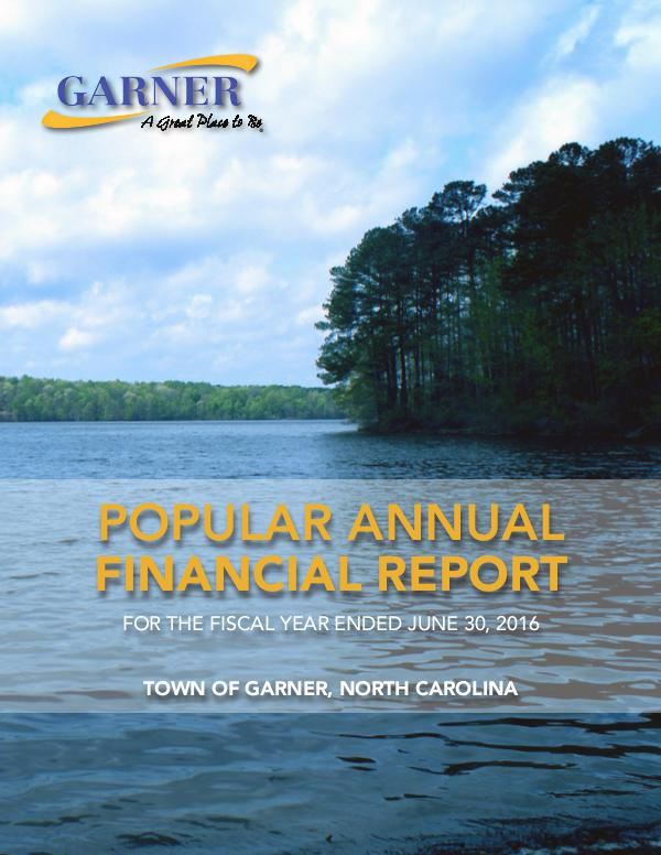 Popular Annual Financial Report - 2016 For the fiscal year ended June 30, 2016