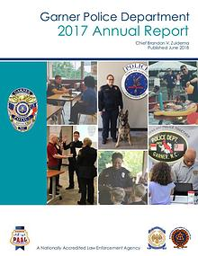 Garner Police Department--2017 Annual Report