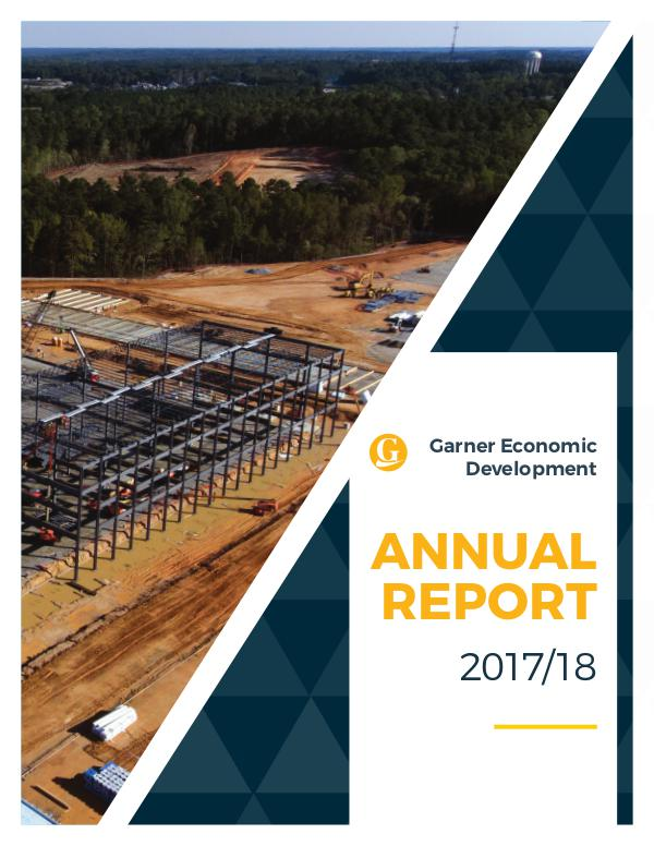 2017-18  Economic Development Annual Report--Town of Garner, NC 2017-18 Economic Development Annual Report