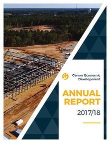 2017-18  Economic Development Annual Report--Town of Garner, NC