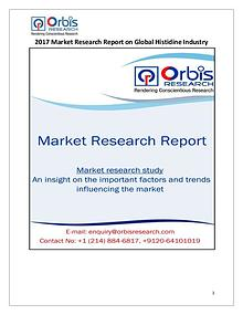 New Study: Global Histidine Market Trend & Forecast Report