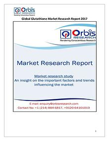 New Study: Global Glutathione Market Trend & Forecast Report