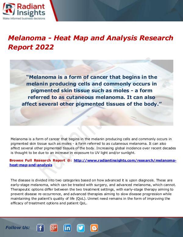 Research Analysis Reports Melanoma - Heat Map and Analysis