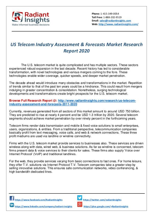 Research Analysis Reports US Telecom Industry