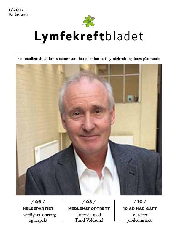Lymfekreftbladet test 1